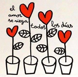 El amor se riega