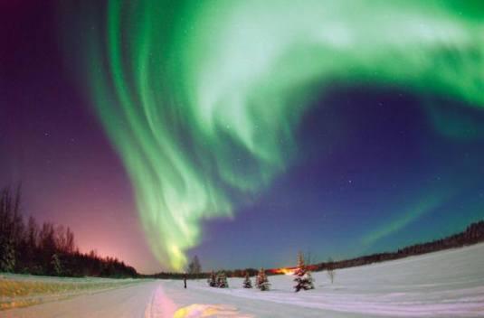 Aurora boreal n