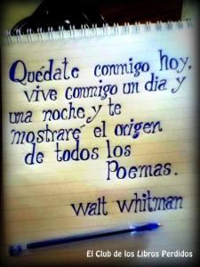 Frase de whitman