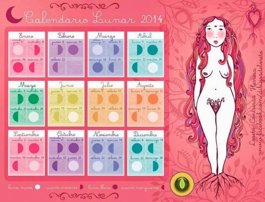 Calendario lunar 2014 (1)