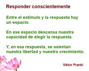 RESPONDER CONSCIENTEMENTE