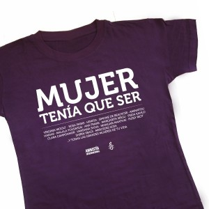Mujer camiseta