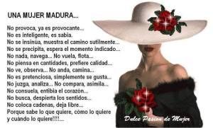 MUJER MADURA