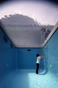 piscina invertida