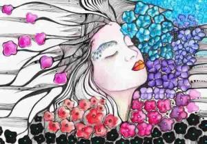 mujer-y-flores